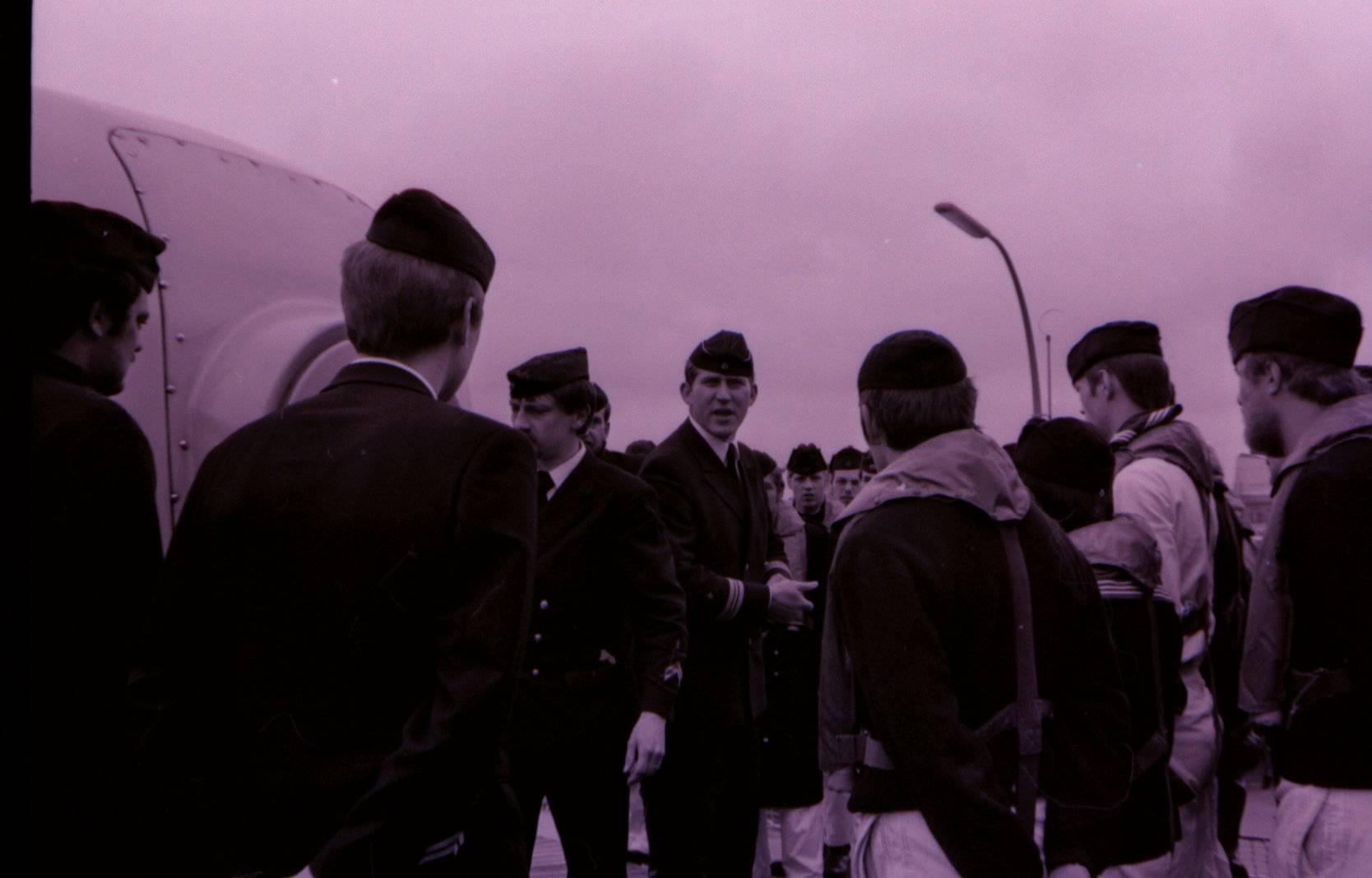 Erstbesatzung 1976